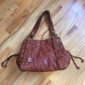 Kooba Sienna Leather Bag With Dust Bag